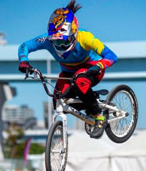 Campeona Olímpica de BMX